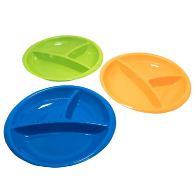 Parent's Choice Baby Feeding Section Plates, 3 ct