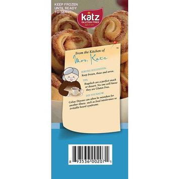 Katz Gluten Free Cinnamon Rugelach   Dairy, Nut, Soy and Gluten Free   Kosher (7 Ounce, 1 Pack of 8 Rugelach)