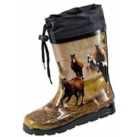 Nora Kids Wellies Women Wild Horses -