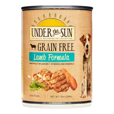 Under the Sun Grain Free Adult Formula with Farm Raised Lamb Canned Dog Food
