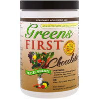 Greens First, Superfood Antioxidant Shake, Chocolate , 14.37 oz (407.64 g) [Flavor : Chocolate]