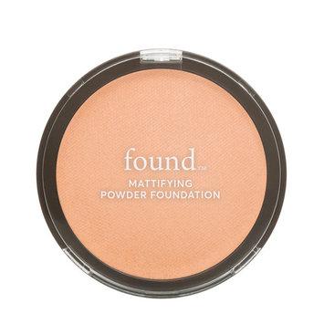 FOUND Mattifying Powder Foundation with Rosemary, 170 Bronze, 0.28 fl oz