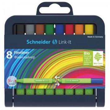 Stride STW191298 Linkit 0.4mm Fn Liner Pen 8 Colors Schneider