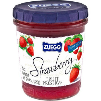 Zuegg Strawberry Fruit Preserve, 11.29 oz