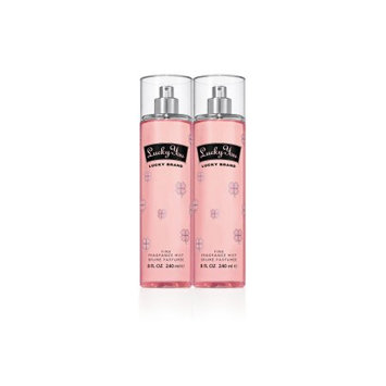Elizabeth Arden Lucky You Fine Fragrance Mist Spray Duo for Women, 8.0 fl oz each
