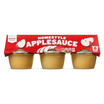 Applesauce Homestyle 6ct - 4oz - Market Pantry™