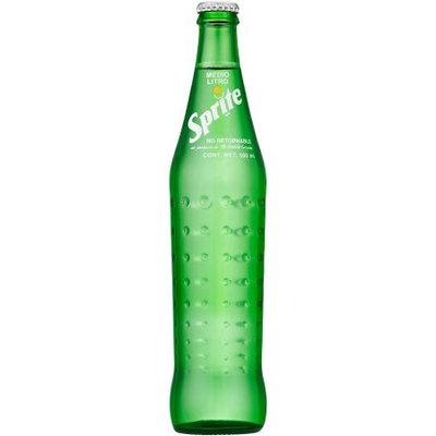 Coca Cola Sprite Mexican Imported Soda, 16.9 Fl Oz, 24 Ct