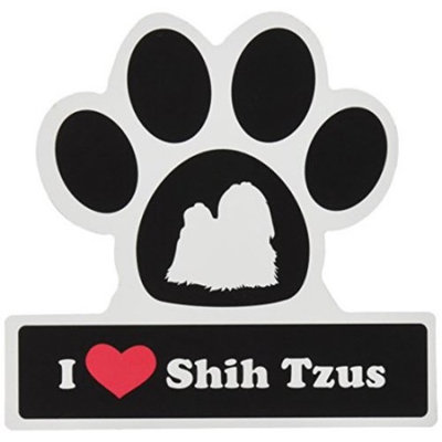 Smart Tag LittleGifts Car Magnet [Shih Tzu]