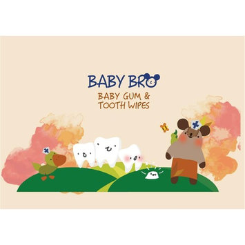 Baby Gum & Tooth Wipes for Gums and Teeth - 100% natural biodegradable cotton wipes