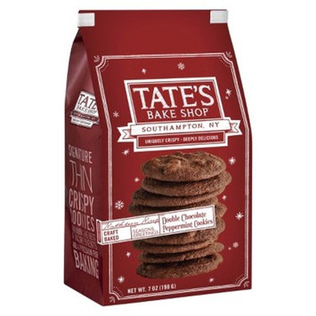 Tate's Bake Shop Craft Baked Double Chocolate Peppermint Cookies - 7oz