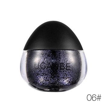 Glitter Eyeshadow - Shimmer Powder for Eyeshadow, Makeup, Nail Art (F)