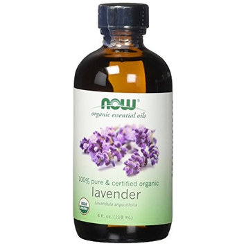Now Solutions Organic Lavender Essential Oil, 4-Ounce [Lavender]