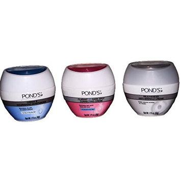 Facial Beauty set of 3 - Ponds Moisturizer, Dark spot Corrective Cream and Anti-Wrinkle Cream
