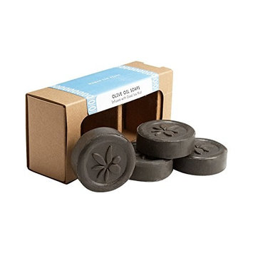 Ten Thousand Villages Gray Mud and Olive Oil Soap 'Dead Sea Soap Set'