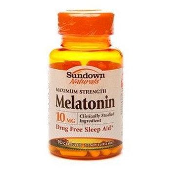 Sundown Naturals Melatonin, 10mg, Capsules 90 ea