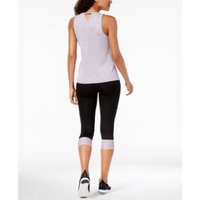 Keyhole-Back Tank Top & Colorblocked Cropped Leggings, Created for Macy's