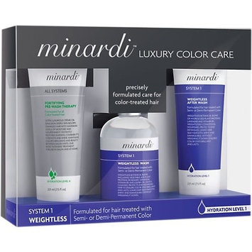 Minardi Luxury Color Care Essential Kit System 1 Weightless
