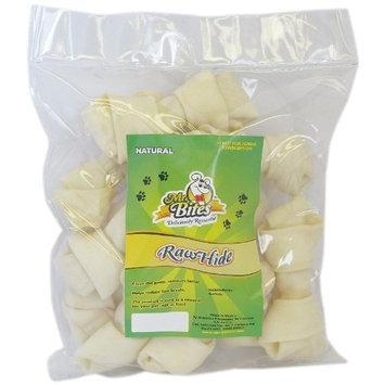 Mr Bites 4-Inch Natural Rawhide Bone, 12-Pack