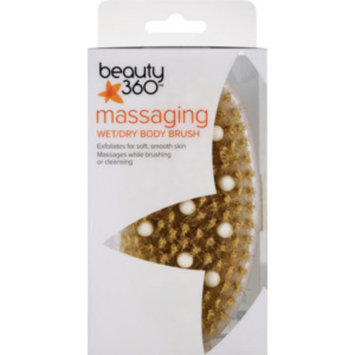 Beauty 360 Massaging Wet/Dry Body Brush