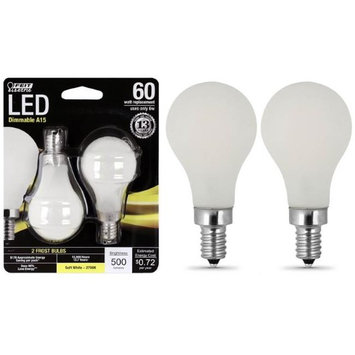 Feit Electric 7184716 60W Equivalent Frost A15 Dimmable LED Light Bulb