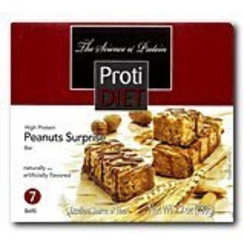 Protidiet Peanut Surprise High Protein Bar 9.9 oz (Box of 7)