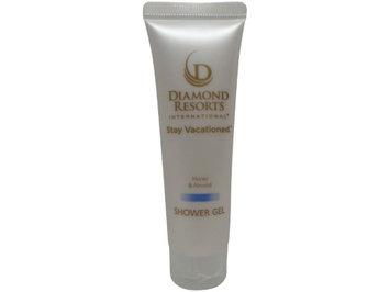 Diamond Resorts International Shower Gel w/Honey and Almond 1OZ (Pack of 16)