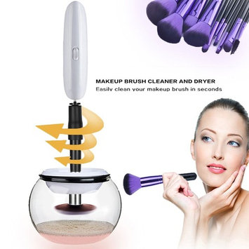 Makeup Brush Cleaner, Automatic Makeup Brush Clean and Dry Tool in Seconds for All Size Makeup Cosmetic Brushes by Beshiny