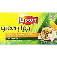 Lipton®  Green Tea Bags, Superfruit Decaf, Jasmine Passionfruit with Citrus
