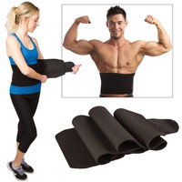 Neo Products Usa Inc Super Waist Trimmer Lower Back Wrap - Helps To Burn Fat & Has Lumbar Support