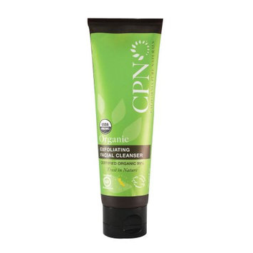 California Pure Naturals Organic Exfoliating Facial Cleanser, 4.0 Oz