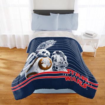 Star Wars Episode 8 Twin or Full Sherpa Back Comforter, 1 Each