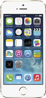 Apple - Iphone 5s 4g Lte With 16GB Memory Cell Phone - Silver