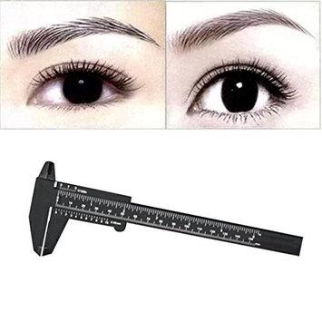Baomabao 1PC Microblading Reusable Measure Eyebrow Guide Ruler Makeup Tools
