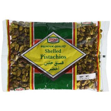 Ziyad Shelled Pistachio Nuts, 12 Ounce