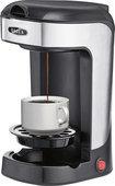 Bella - 1-cup Coffeemaker - Black/stainless Steel