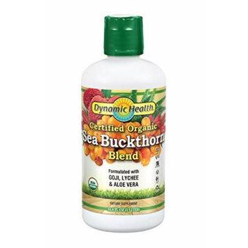 Dynamic Health Organic Certified Juice Blend, Sea Buckthorn, 33.8 Fluid Ounce