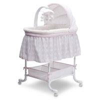 Simmons Kids Lucia Deluxe Gliding Bassinet