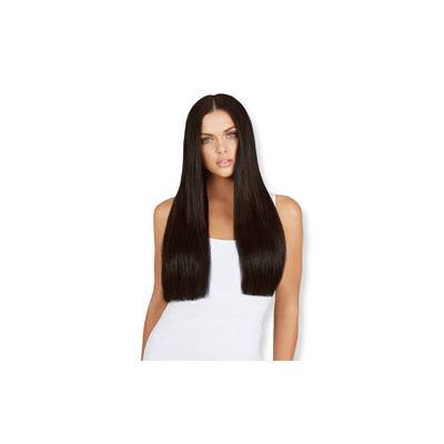 Leyla Milani Clip-In Hair Extension 20-inch Natural Black