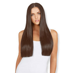 Leyla Milani Clip-In Hair Extension 20-inch Milk Chocolate
