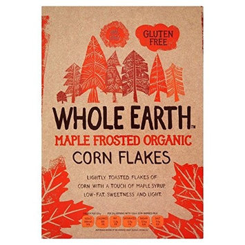 Whole Earth Organic Maple Frosted Flakes 375g - Pack of 2