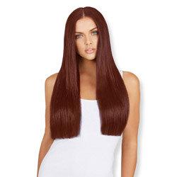 Leyla Milani Clip-In Hair Extension 20-inch Dark Auburn