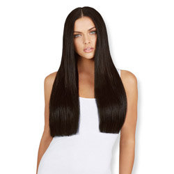 Leyla Milani Clip-In Luxury Hair Extension 24-inch Natural Black