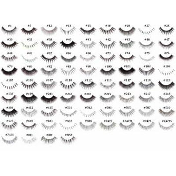 Pick Any 40 Pairs of Red Cherry False Eyelashes (exclude DW, WSP, 102, and 605)