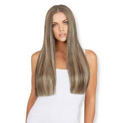 Leyla Milani Clip-In Luxury Hair Extension 24-inch Dark Blondish Brown