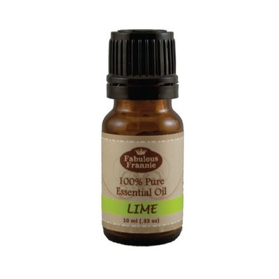 LIME 100% Pure, Undiluted Essential Oil Therapeutic Grade - 10 ml. Great for Aromatherapy!