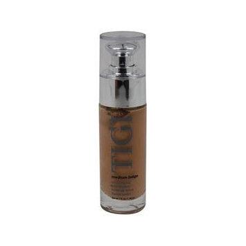 Satin Liquid Foundation - Medium Beige by TIGI for Women - 1 oz Foundation