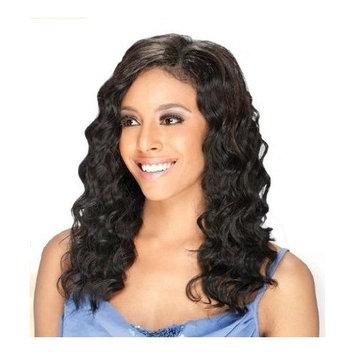 MilkyWay Que INVISIBLE PART WEAVING CLOSURE Human Hair MasterMix - LOOSE DEEP 10'' (P4/30)