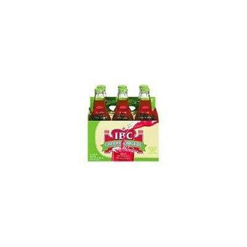 IBC Cherry Limeade Soda 12oz Glass Bottles (Pack of 24) 4 - 6 Packs
