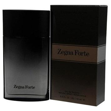 ZEGNA FORTE by Ermenegildo Zegna EDT SPRAY 3.4 OZ & TOILETRY BAG