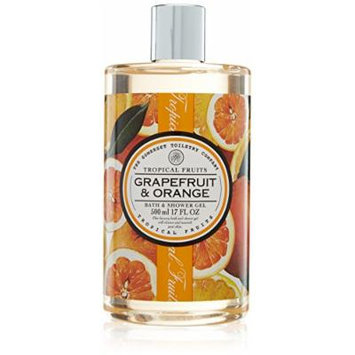 Tropical Fruits Grapefruit & Orange Bath & Shower Gel 500ml
